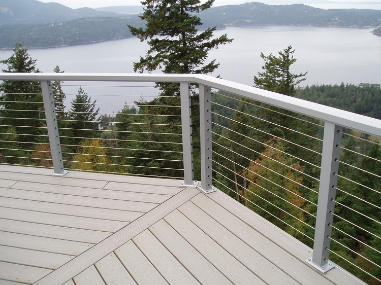 The Benefits Of A Stainless Steel Wire Rope Balustrade