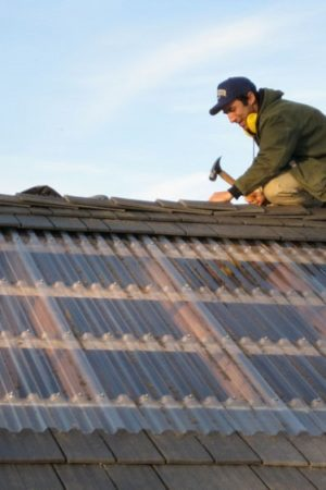 Roof Fall into Disrepair