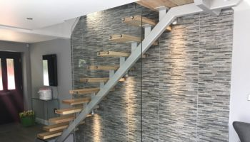 Home with a Bespoke Staircase